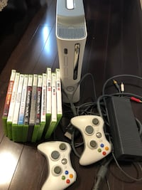X box 360 with 11 games Mississauga, L4W 2G3