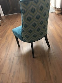Blue and gray padded chair Delray Beach, 33484