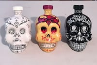Scarce Set 3  KAH Tequila Bottles 750ml (EMPTY) Hand Selected Collector Quality Carrollton, 75007