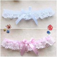 Wedding/Bridal Lace Elastic Garter  Whitby