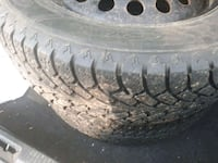 225 60 17 studded winter tires  Edmonton, T6E 2E4