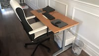 Office table + Chair + bin all three for sale  Toronto, M1L