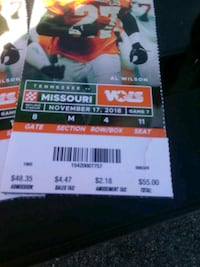 Ut tickets Knoxville, 37902