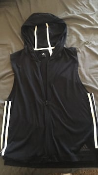 black and white zip-up vest Odessa, 79761
