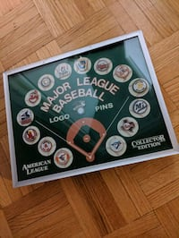 MLB Baseball American League Pin Set Toronto, M6H 2T1