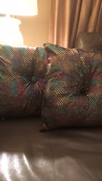 Sequinned pillows Set of 2 New Barrie, L4N 1G6