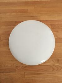 Round white florence ceiling light  Newmarket, L3X 2N7