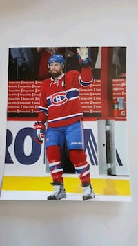 Shea Weber  16x20 photo poster Montreal Canadiens