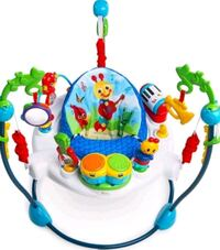 baby's white and blue jumperoo Salinas, 93906