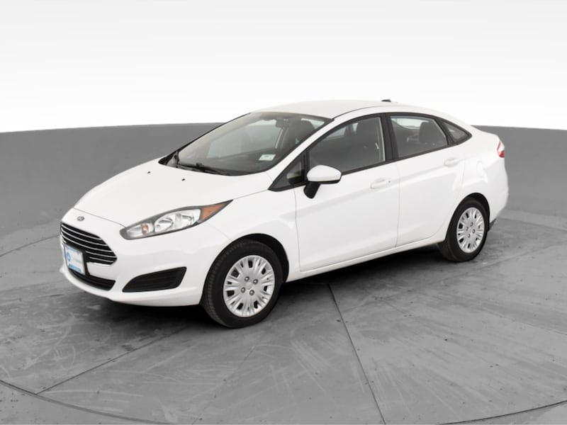 2017 Ford Fiesta sedan S Sedan 4D White <br /> 2