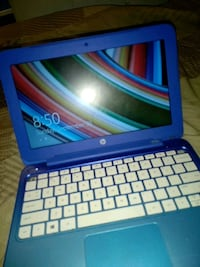 blue and white HP laptop Woodbridge, 22191