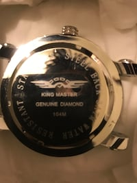 King Master Diamond Watch