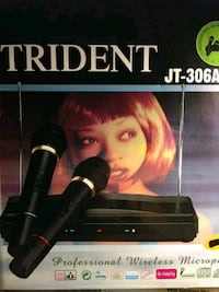 Trident JT-306A Wireless Microphone system