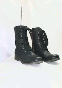 Boots womens combat boots size 6