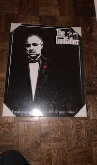 Godfather wall picture  Toronto, M9A 4M9
