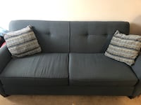 Grey fabric 3 seat sofa Edmonton, T6X