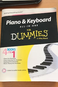 Piano & Keyboard for Dummies  Vancouver, V6G 0B6
