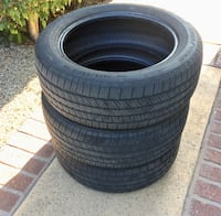 3 Tires  235/55/18 Goodyear Eagle RS-A Culver City