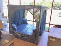 New Wicker Outdoor Day Bed