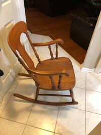 Authentic antique rocking chair $50 Hanover Park