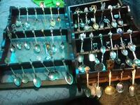 Collectible spoons from all over the world
