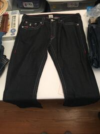True Religion Jeans Barely Worn Size 36 Frederick