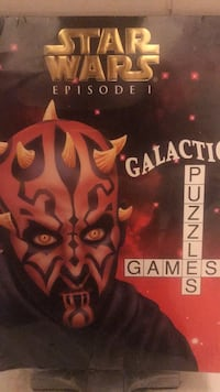 Star wars episode 1 galactic puzzel new