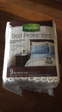 Depend Bed Protectors in pack 埃德蒙顿, T6W