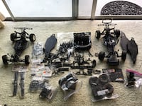 1:10 Team Durango DESC210 Dirt Short Course Trucks Rollers plus HUGE Parts Lot NEWPORTRICHEY