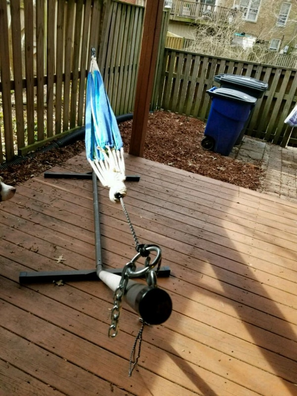 Hammock and base -make me an offer