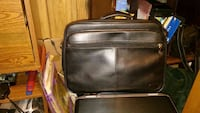Black leather laptop bag Virginia Beach, 23462