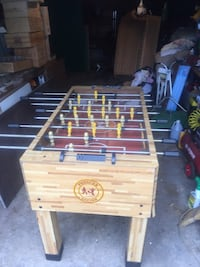 brown and black foosball table Tinton Falls, 07753