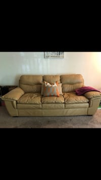 Genuine Leather Couch Owings Mills, 21117