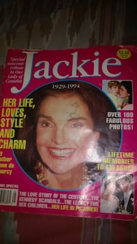 Jackie Kennedy Globe magazine Special Edition American Canyon, 94503
