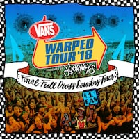 2 warped tour tickets for 21 June Indio, 92201
