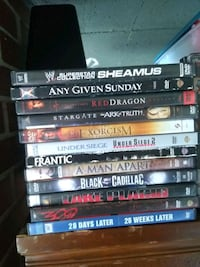 assorted DVD movie case lot Baltimore, 21220