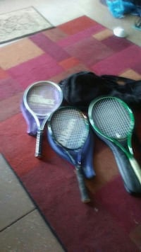 3 grafite tennis rackets with separate cases profe Port Charlotte, 33954
