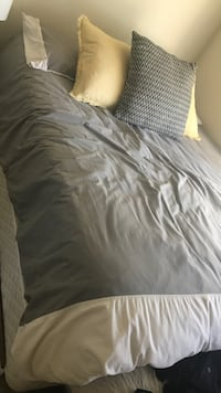 Grey and white duvet cover  San Jose, 95136
