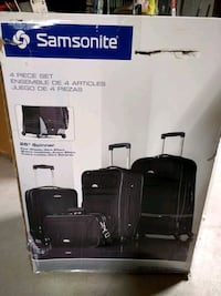 4 in a set. Brand new never used. Samsonite Best Downers Grove, 60516