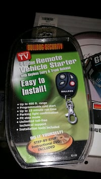 Bulldog Security 4 button remote vehicle starter p