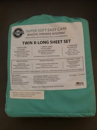 BRAND NEW TEAL TWIN XL SHEET SET Waldorf, 20601
