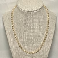 Freshwater Pearl Necklace with Sterling Silver Clasp