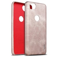 NEW // Faux leather metallic pink phone cover for  Google Pixel 2 Richmond