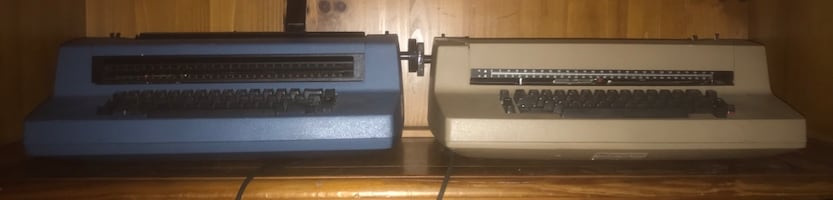 2 IBM CORRECTING SELECTRIC TYPEWRITERS