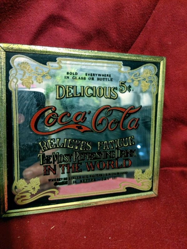 Small Coca-Cola mirror