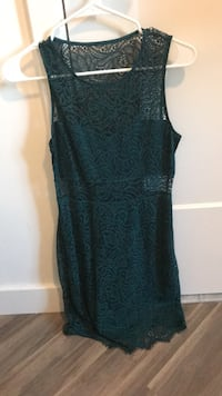 Express Teal Lace Dress, XS Washington, 20037