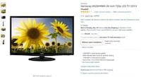 Sumsung 28-Inch 720P LED TV New York, 10003