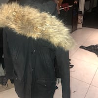 Real fur winter jacket 552 km
