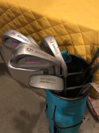 Golf ladies irons Knight Lancer 2i thru sw putter North Andover, 01845