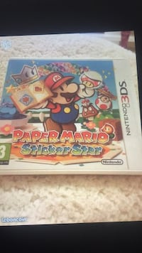 Paper Mario stickers star 3 ds